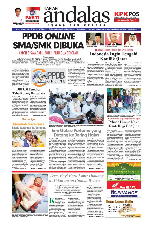 Epaper andalas edisi senin 12 juni 2017 by media andalas - issuu ec1c614cf2