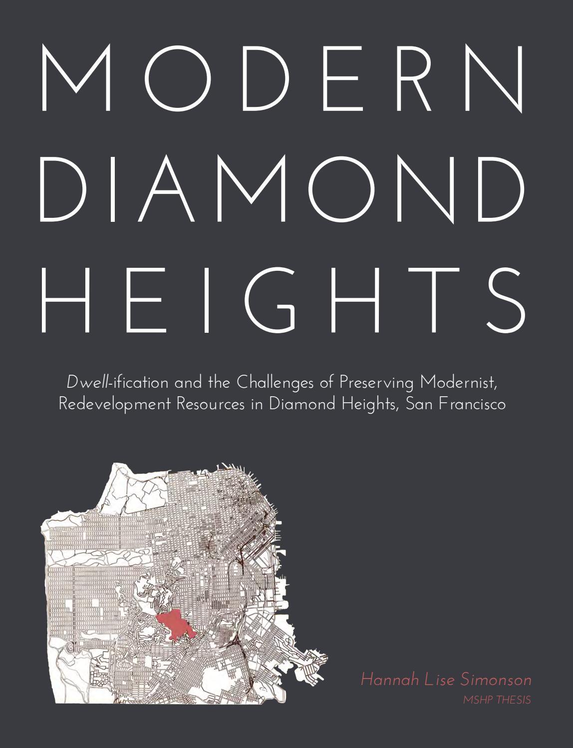 Modern diamond heights by hannah simonson issuu