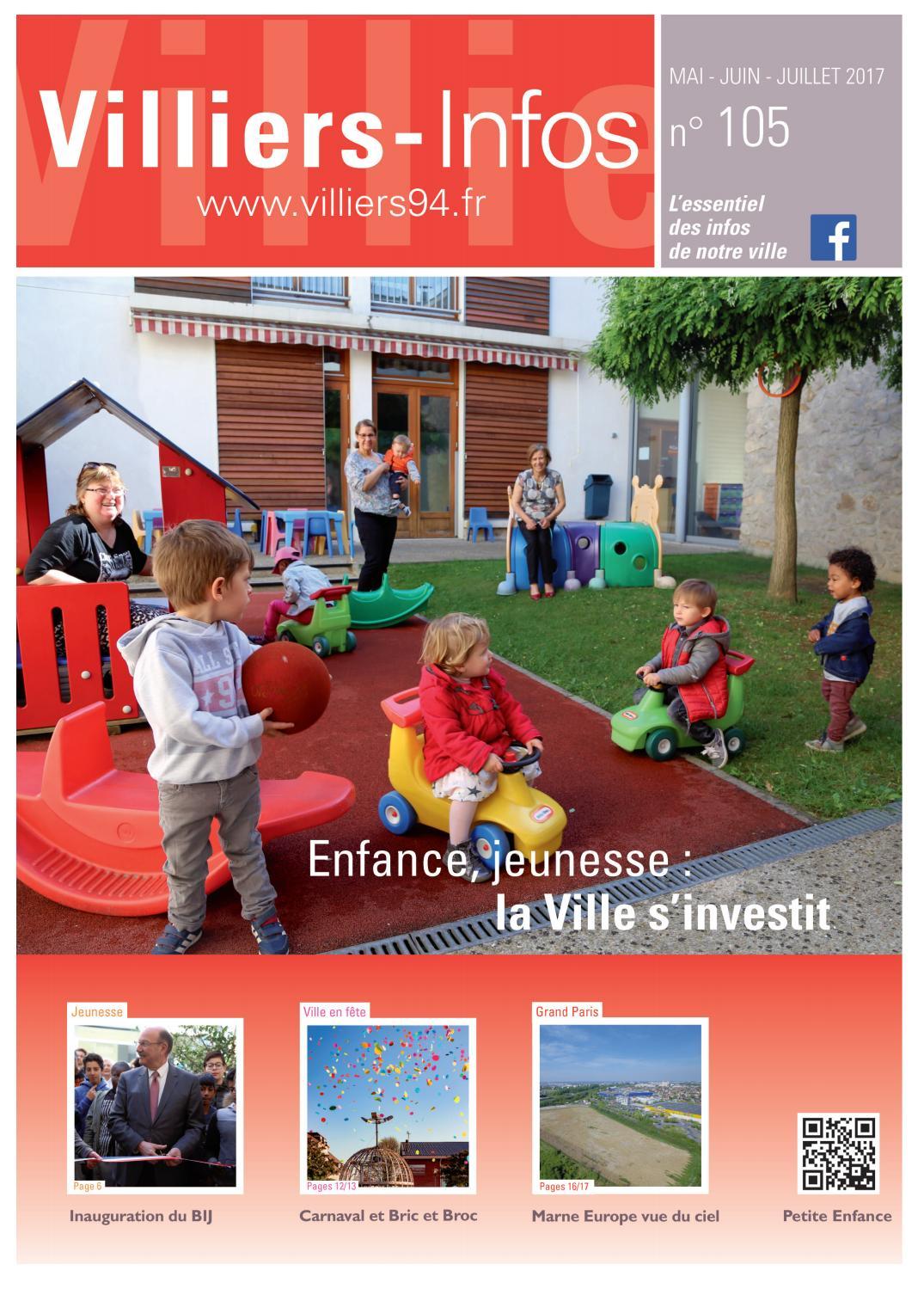 355127fe6d2fe Villiers-Infos n°105 by Mairie de Villiers-sur-Marne - issuu