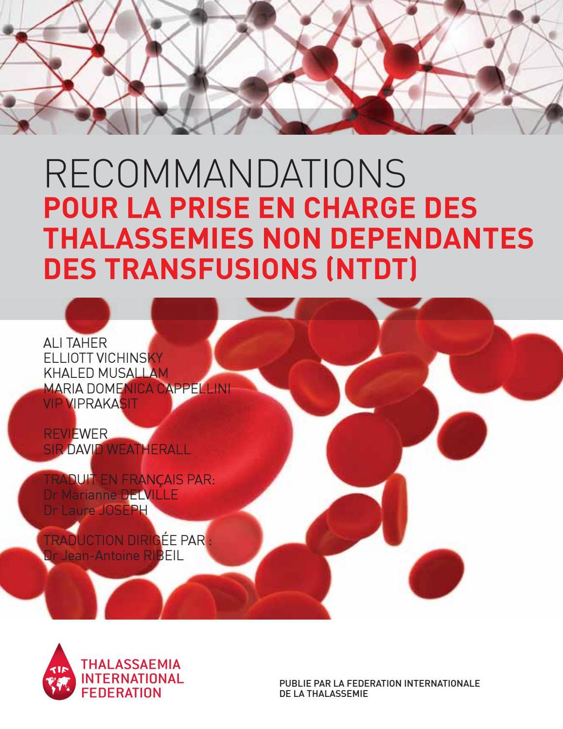 di prim'ordine forma elegante più colori French booklet [demo2] by Thalassaemia International ...