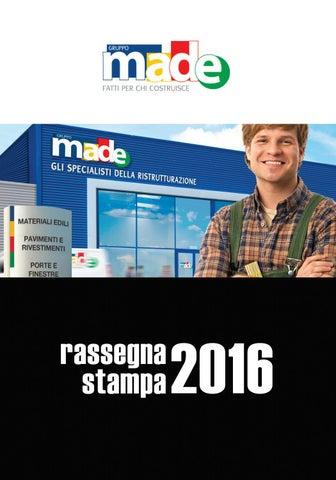 RASSEGNA STAMPA MADE 2016 by Gruppo Made - issuu 990e469d7a8