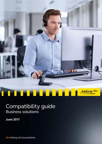 Jabra Compatibility Guide by Jabra - issuu