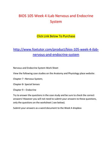 endocrine system questions and answers