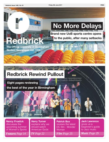 fb9aedf9dca7 Redbrick - Issue 1482 by Redbrick - issuu