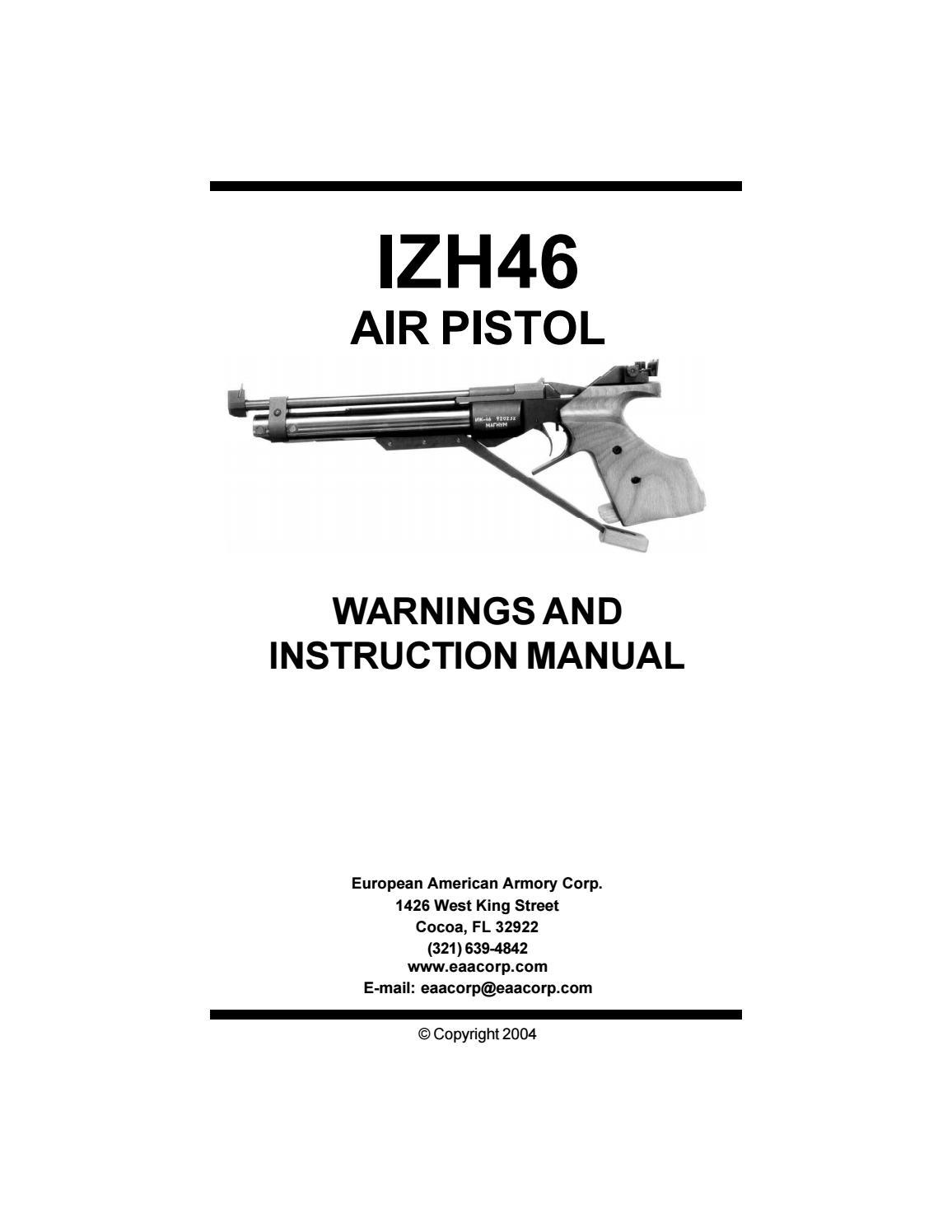 izh 46 pistol by eaa corp