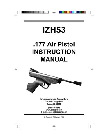 IZH 53 Pistol by EAA Corp - issuu