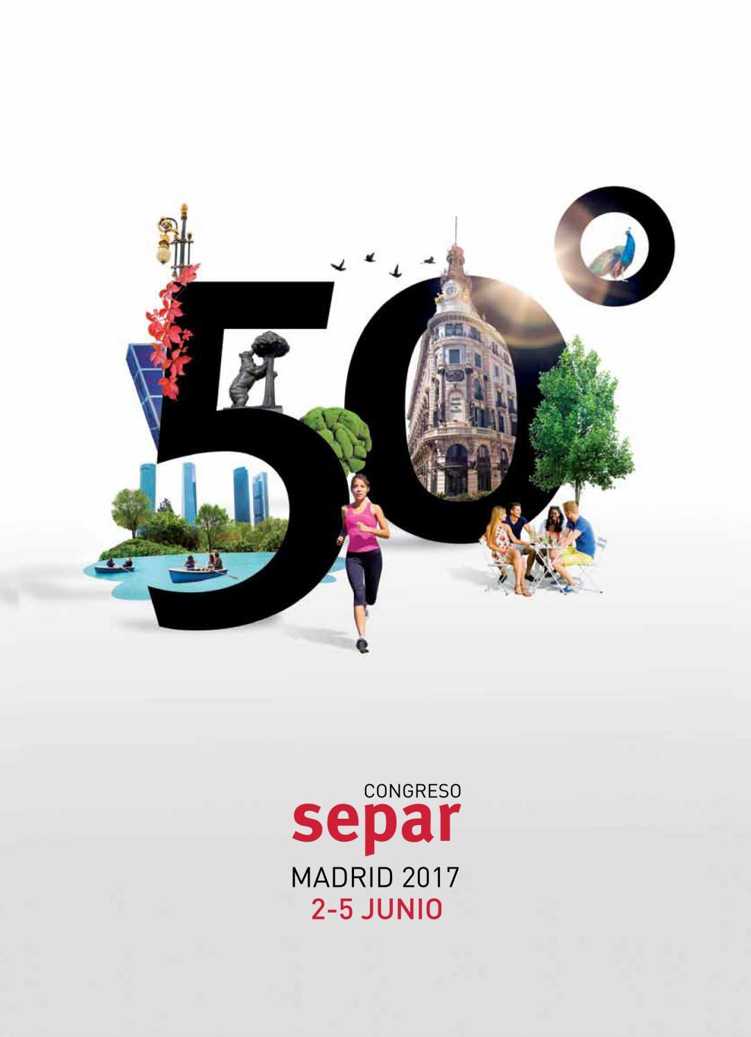 Programa Congreso SEPAR Madrid 2017 by SEPAR - issuu