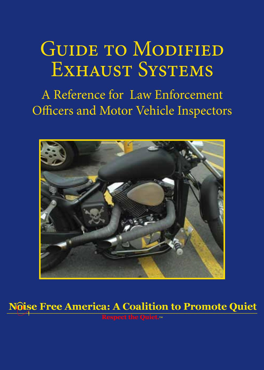 Guide to Modified Exhaust Systems by Kent Sorsky - issuu