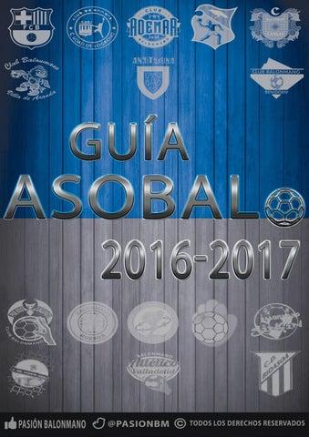Gua Asobal 201617 By Pasion Balonmano Issuu