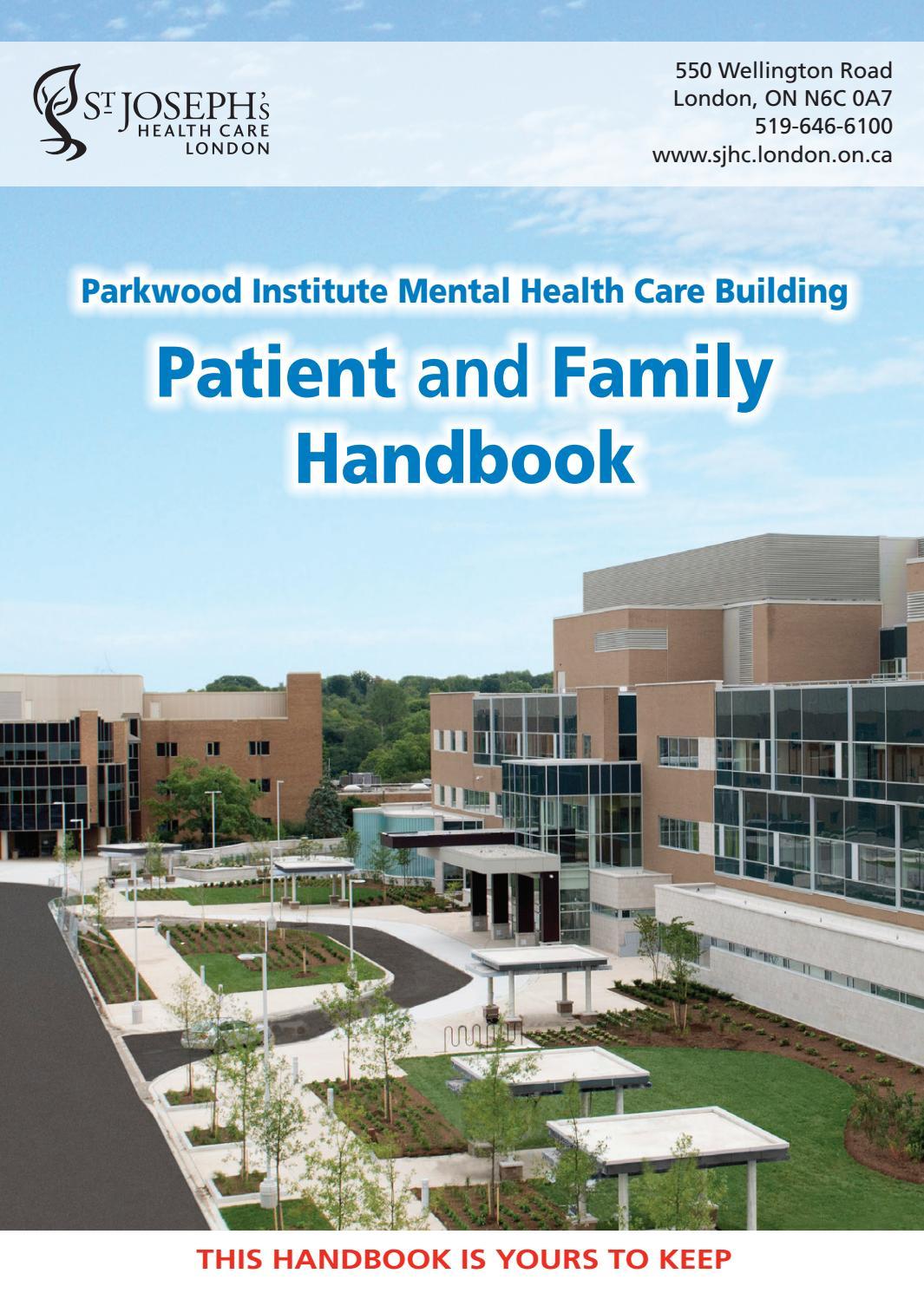 St.Joseph's Health Care London - Parkwood Institute-Mental ...