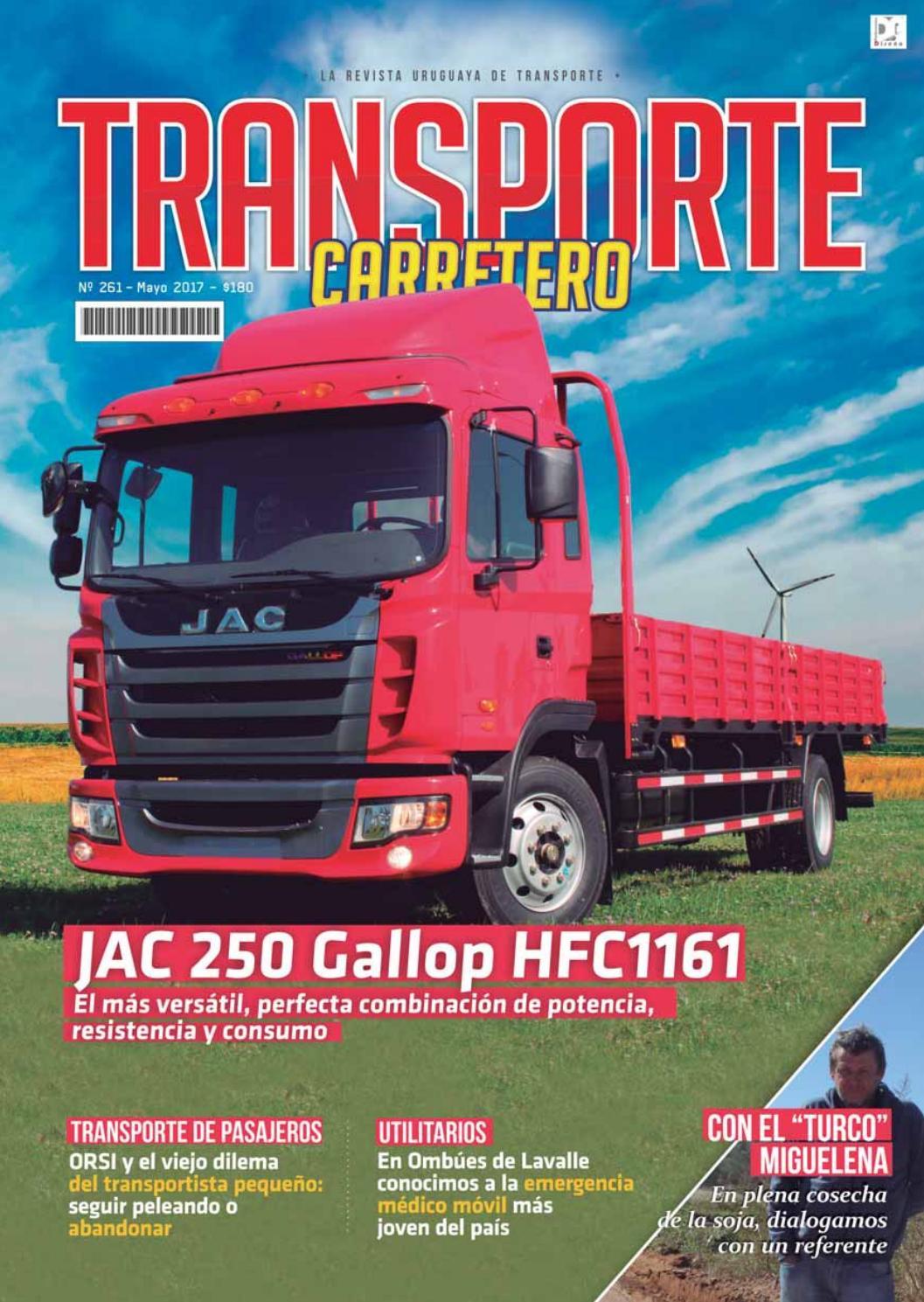 Transporte Carretero Nº 261 - mayo 2017 by Diseño Producciones - issuu