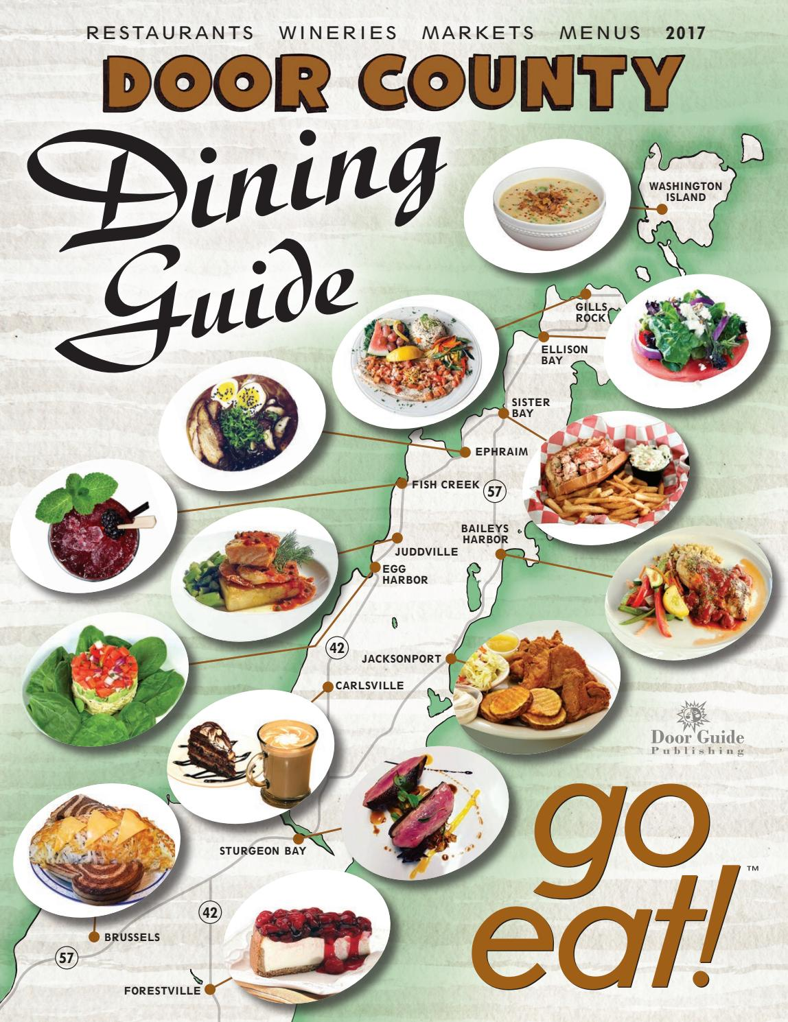 2017 Door County Dining Guide By Publishing Issuu All New Beat Sporty Esp Cw Hard Rock Black Solo