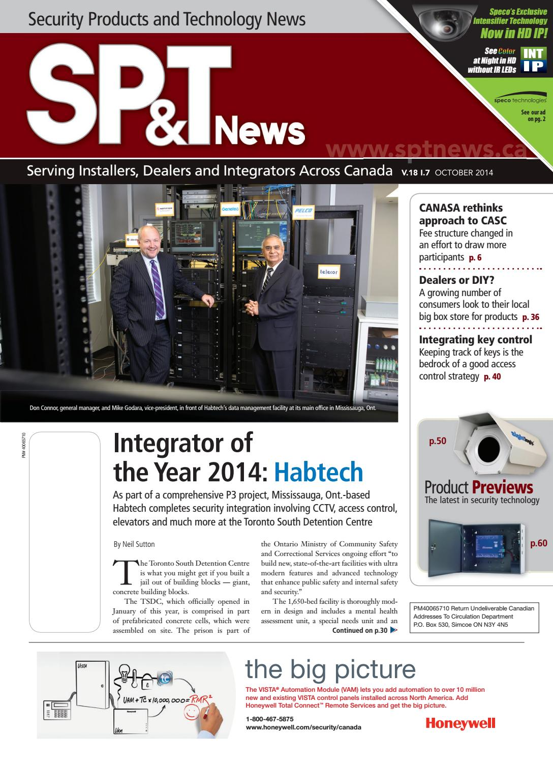 Securtity Products and Technology News October 2014 by Annex