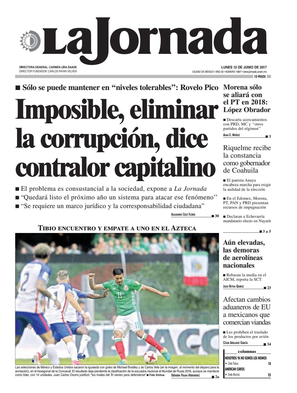 Amaranta Ruiz Culo la jornada, 06/12/2017la jornada - issuu