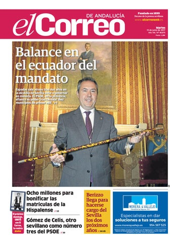 13 06 2017 El Correo de Andalucía by EL CORREO DE ANDALUCÍA S.L. - issuu 80f52bddef67b
