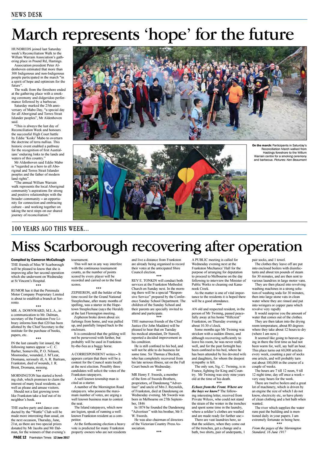 12 June 2017 by Mornington Peninsula News Group - issuu
