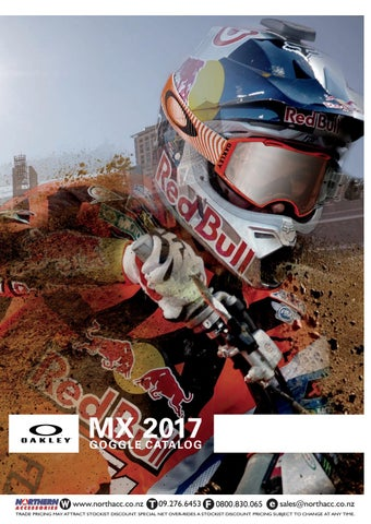48721c85322 2018 Oakley Retail Catalog Northern Accessories by Northern ...