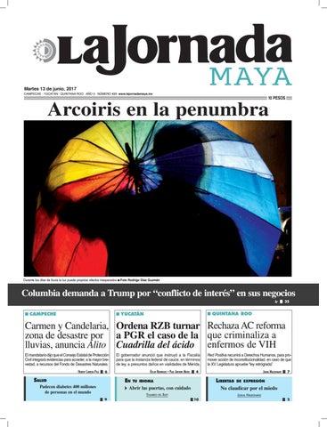 66e3387beb La Jornada Maya · Martes 13 de junio