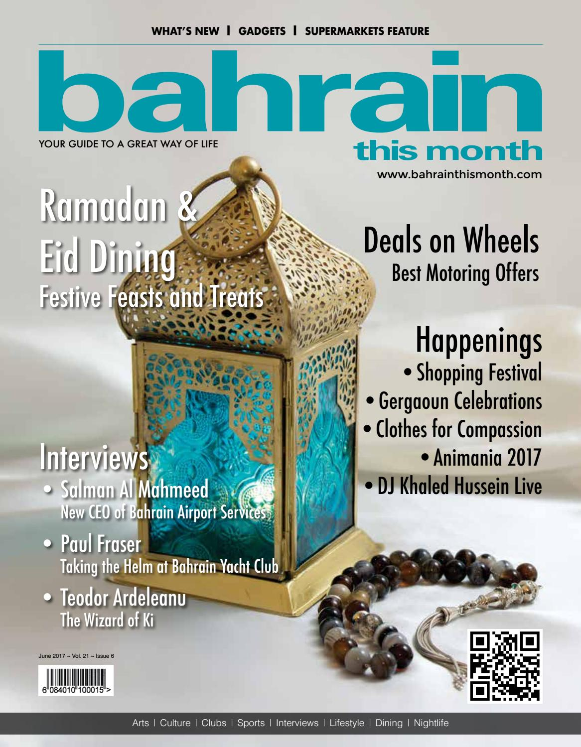 Bahrain This Month - June 2017 by Red House Marketing - issuu