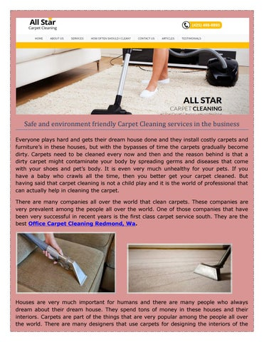 Best Professional Carpet Cleaning Services in Bothell, WA, United States - allstarnw.net