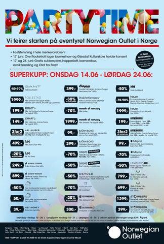 90381cc48 Partytime Norwegian Outlet Stavanger, sommer 2017 by Norwegian ...