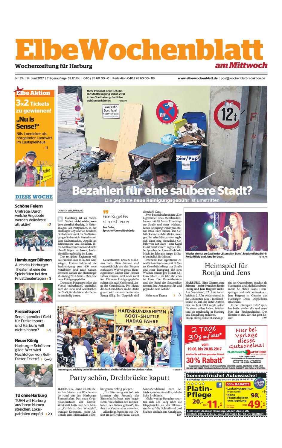 Harburg KW24-2017 by Elbe Wochenblatt Verlagsgesellschaft mbH & Co ...