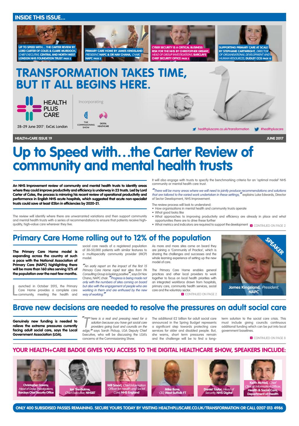 Commissioning Show Newspaper - Issue 19 by CloserStill Media