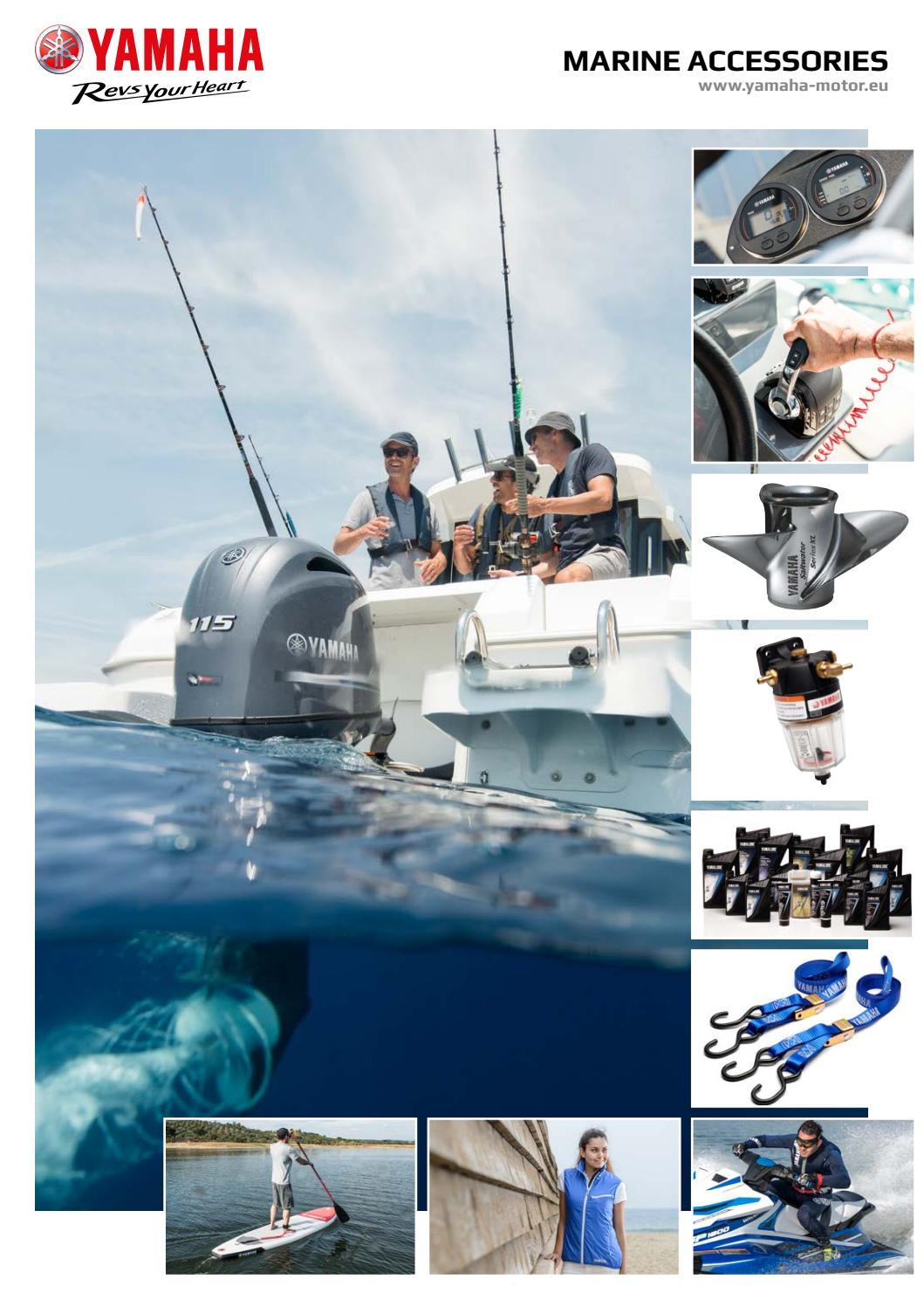 Catalogo accessori marine 2017 by Yamaha Motor Europe N.V. filiale Italia -  issuu