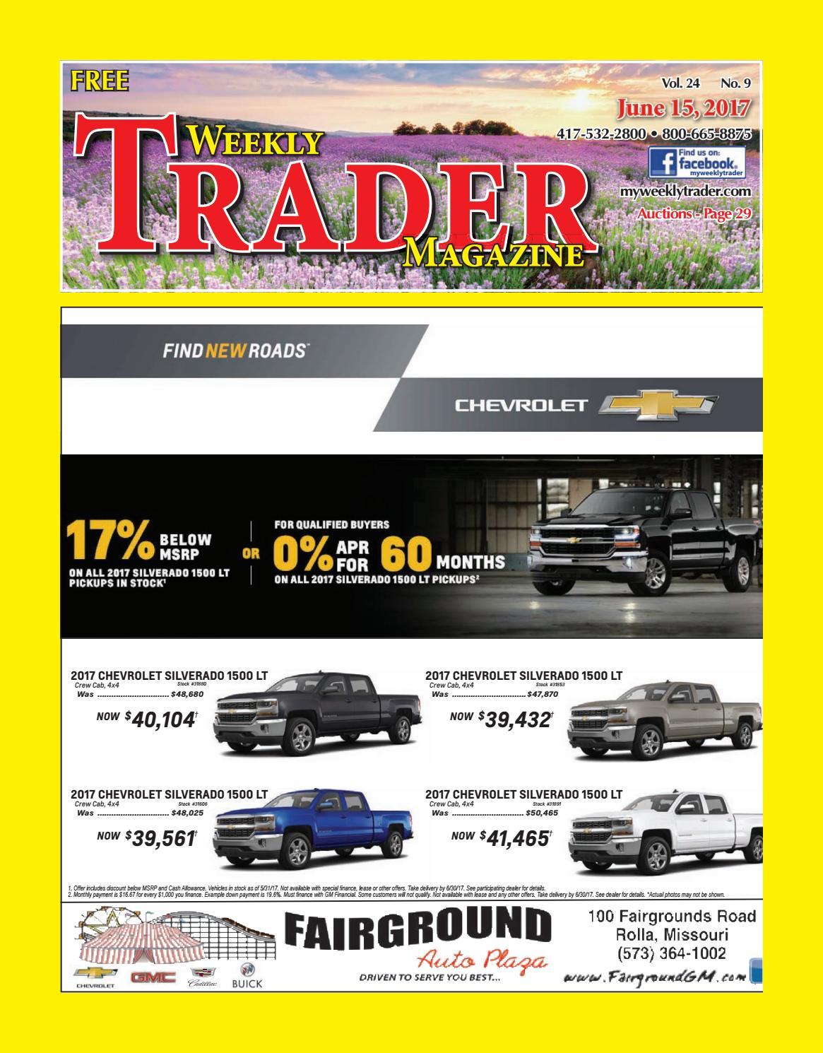 Weekly Trader June 15, 2017 By Weekly Trader   Issuu