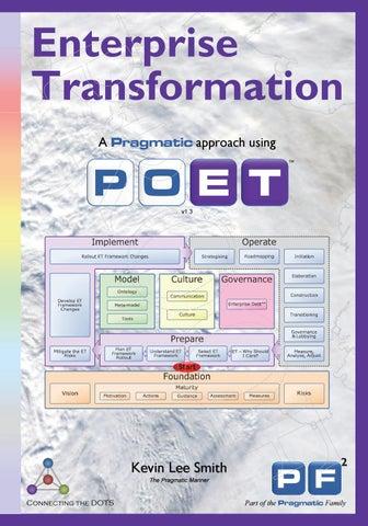 Enterprise Transformation - A Pragmatic Approach by Pragmatic EA Ltd