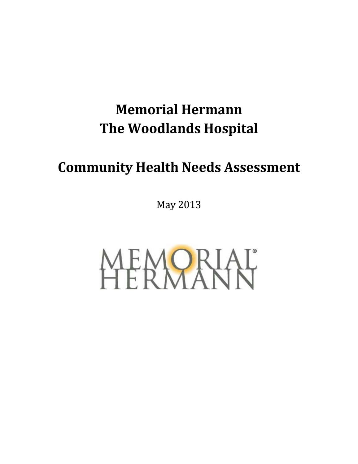 Chna 2013 memorial hermann the woodlands hospital by Texas