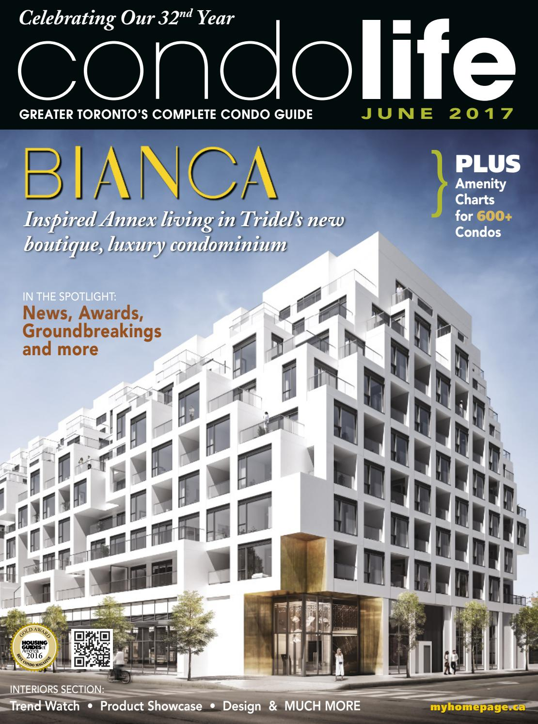 Condo Life Magazine April 2016 by HOMES Publishing Group - issuu