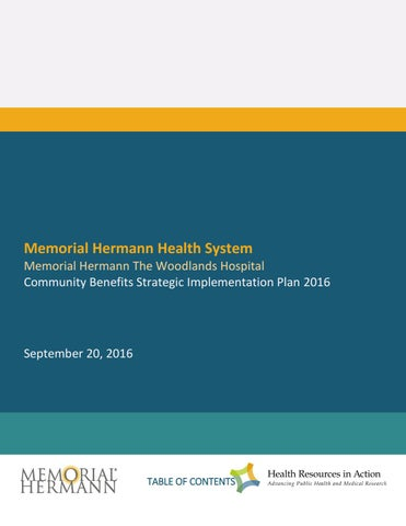 Implement2016 memorial hermann the woodlands hospital by