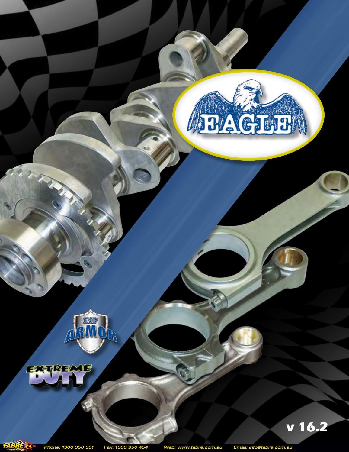 "Eagle Engine Connecting Rod Bolt Set 20000; 7//16/"" 12-Point Cap Screw ARP 2000"