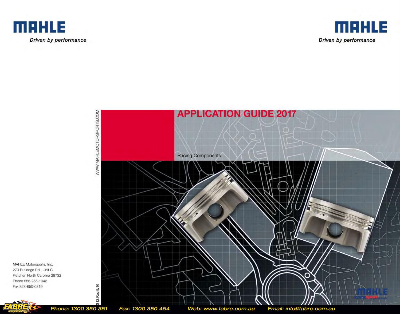 Mahle Performance Piston Ring Set 4145MS-15 1.5 1.5 3.0mm 4.140 Bore File Fit