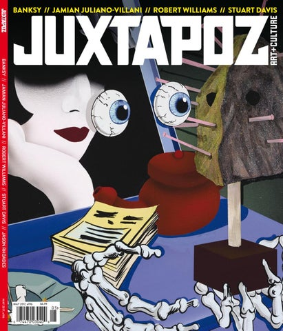 3f7ee899f324 Juxtapoz Art   Culture May 2017 by Juxster - issuu