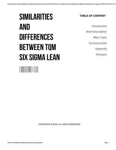 Six Sigma Pdf File