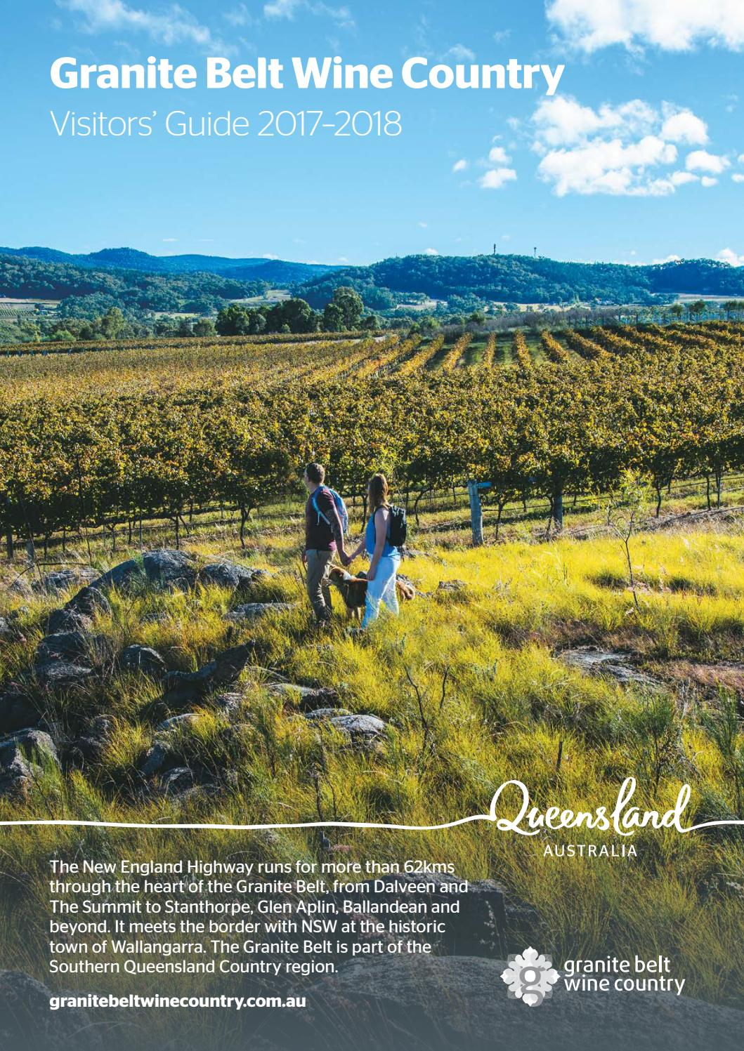 Granite Belt Wine Country Visitors Guide 2017 2018 By