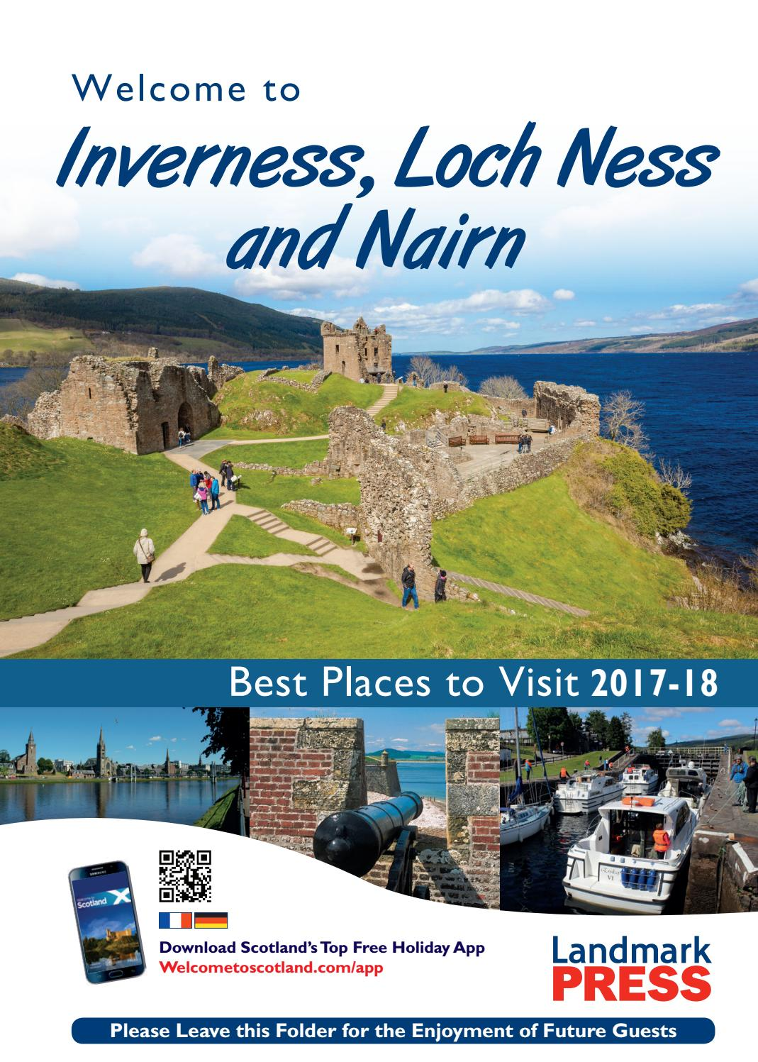 Welcome to Inverness, Loch Ness and Nairn 2017-18 by