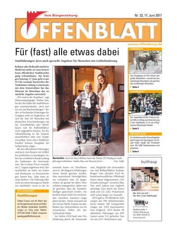 Offenblatt 22 2017 By Offenburg Offenblatt Issuu