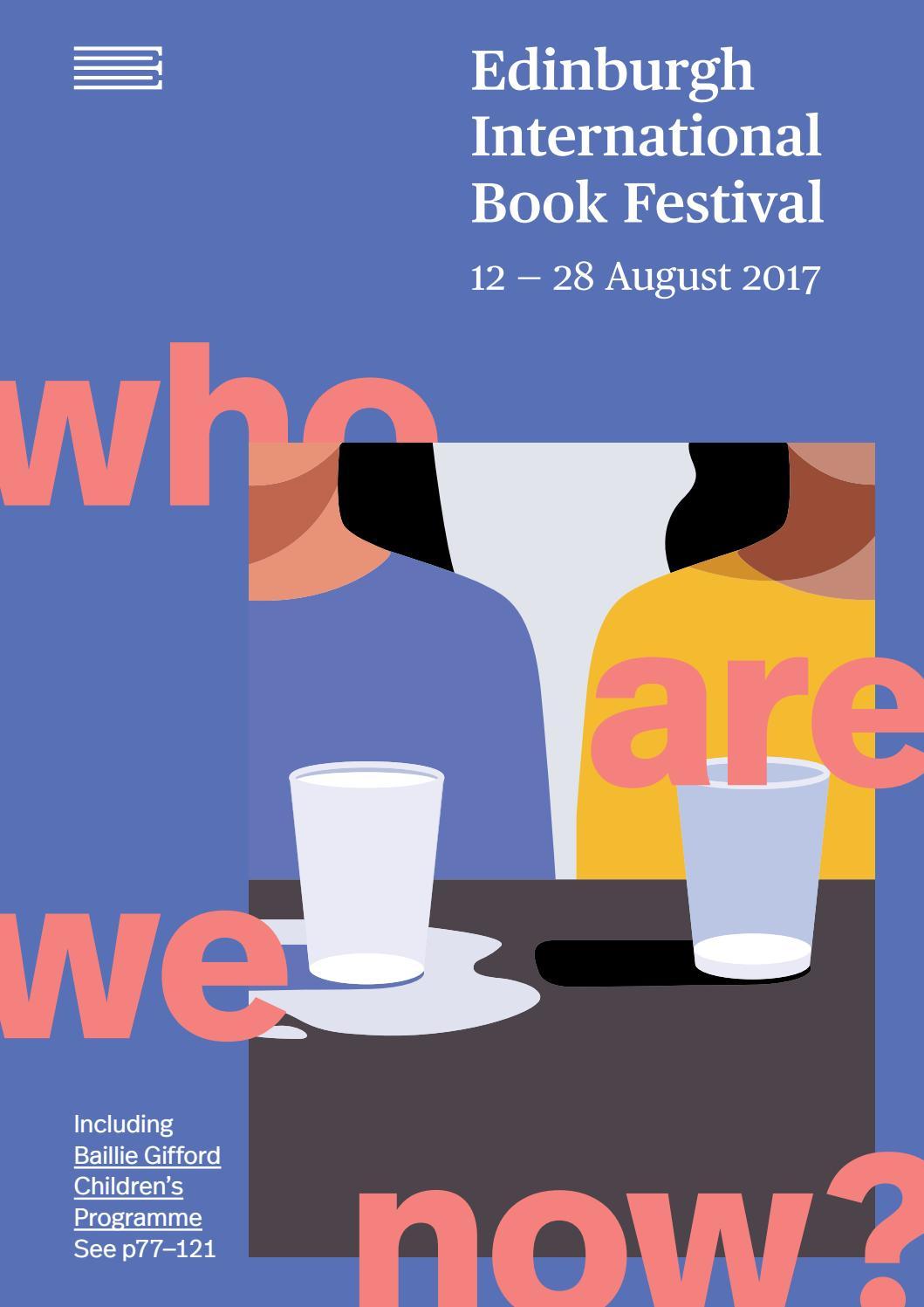 2017 Edinburgh International Book Festival Brochure By 3d Origami Peacock Diagram Stick Tail D Album Jimena Issuu