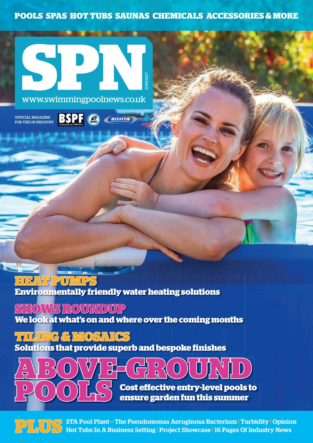 Spn Swimming Pool News June 2017 By Aqua Publishing Ltd Issuu Hot Tub Wiring Cost Uk