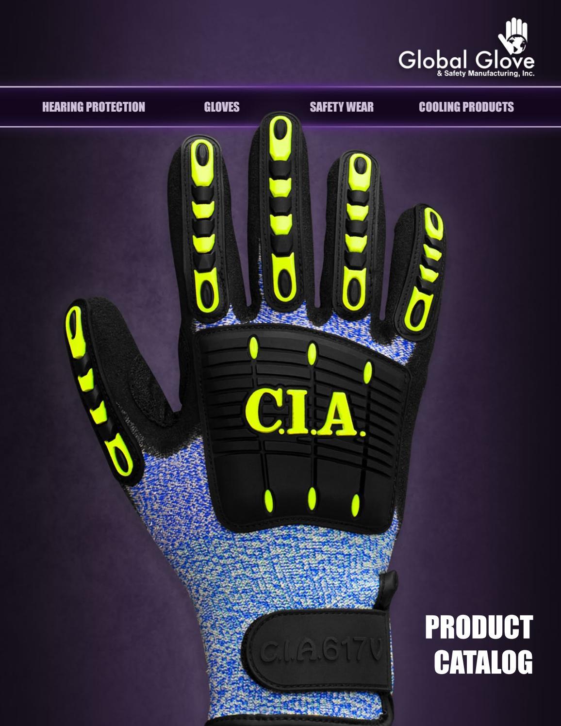 6 Mil Powder Free  S-XL Panther Guard 775PF Heavy Duty Orange Nitrile Gloves