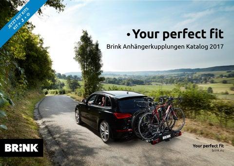 Anhängerkupplung Brink starr Peugeot Expert Kasten 2016- 13 pol UNI E-Satz