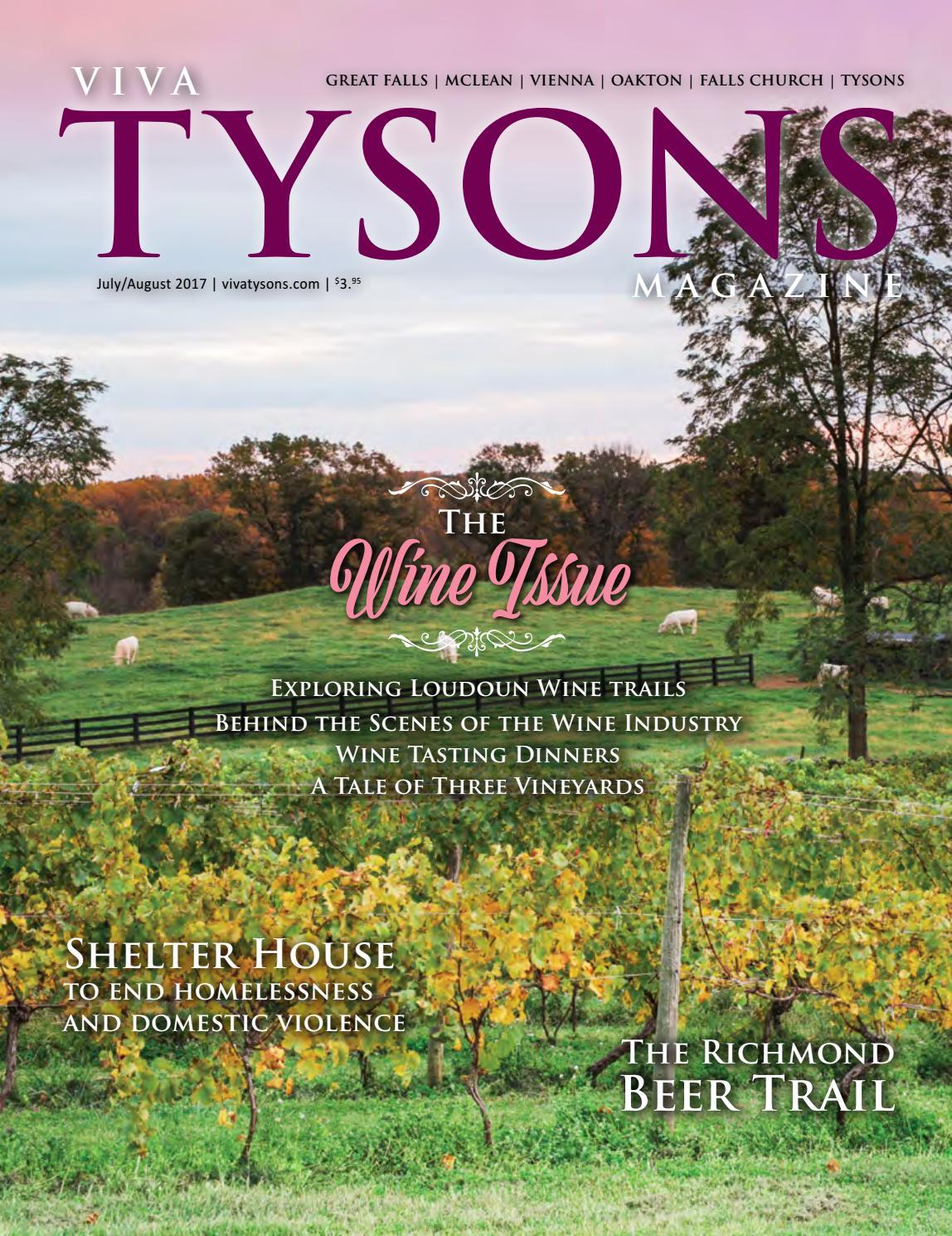 VivaTysons Magazine | July-August 2017 by Johnny Hanna - issuu