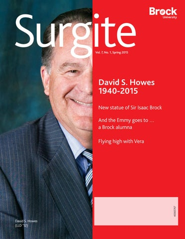 b8f19d81a Surgite – Vol. 7 No. 1 – Spring 2015 by Brock University - issuu
