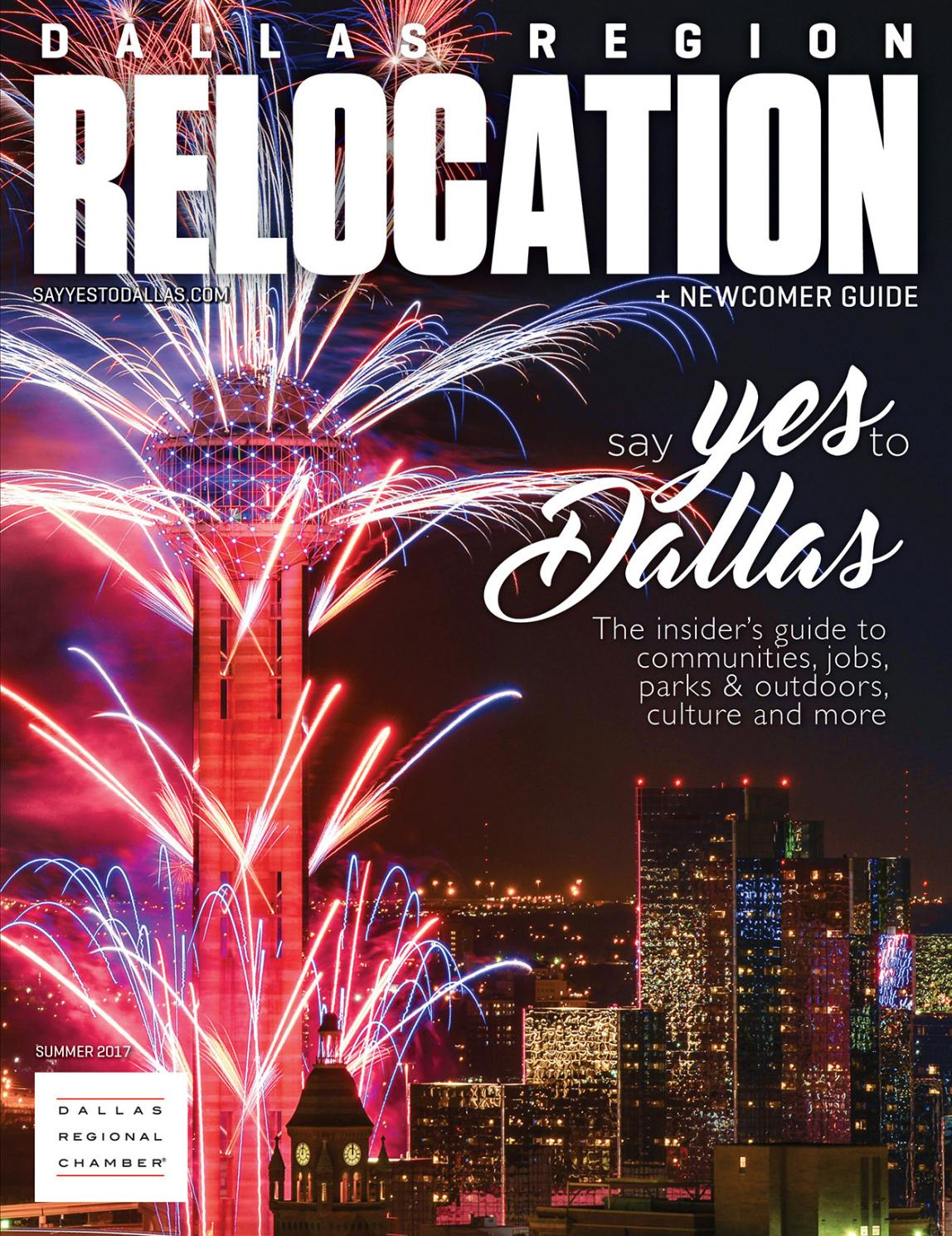 hot sale online f239e 1fc0a Dallas Region Relocation + Newcomer Guide by Dallas Regional Chamber  Publications - issuu