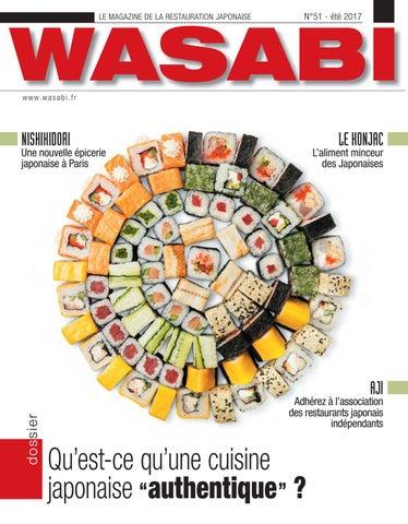 Wasabi 51 by wasabi issuu - Cuisine japonaise sante ...