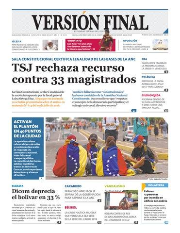 Diario Versión Final by Diario Versión Final - issuu 516b8e0f09c