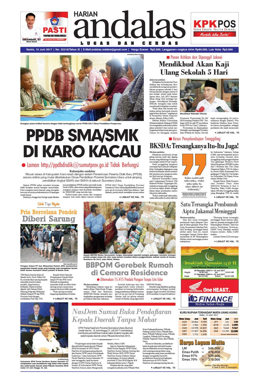 Epaper andalas edisi kamis 15 juni 2017 by media andalas - issuu caa6764a5f